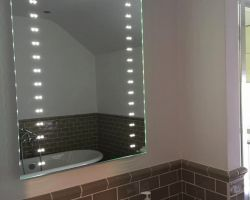 Domestic bathroom electrical work