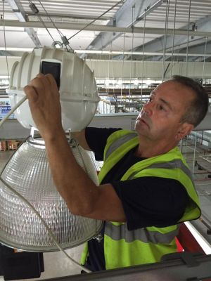 Installing commercial lighting in Cardiff